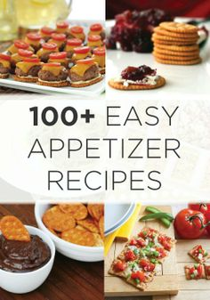 Over 100 easy appetizer recipes from Town House crackers to keep entertaining easy!