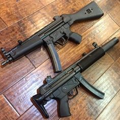 2 factory FullAuto H&K Which 1 is better? Weapons Guns, Guns And Ammo, Battle Rifle, Submachine Gun, Military Guns, Bushcraft, Armada, Cool Guns, Assault Rifle