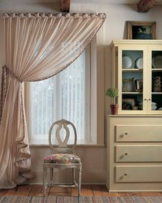 Style your window with a sheer curtain in front of beautiful vertical blinds to allow angling of the light. This will give a luxurious layering effect and add warmth to your home. Great value replacement slats in a huge range of fabrics, colours and designs are available at: www.blindsparesonline.co.uk
