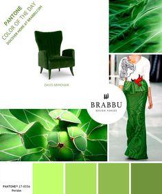 Pantone colour of the day | Pantone Farbe des Tages | BRABBU