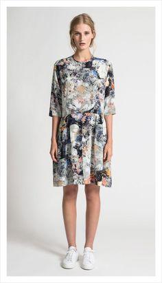 4bbdbf9f92e Juliette Hogan Peplum Tunic Dress Fall Skirts