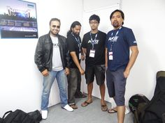 The Mihir Joshi Band Viru, Ishaan, Sanju and MIhir (from right to left).