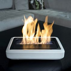 Elegant Portable Fireplace for Indoor Lounge: Small Electric Portable Fireplace Design Maximum Heater Ability ~ stepinit.com Fireplace Inspiration