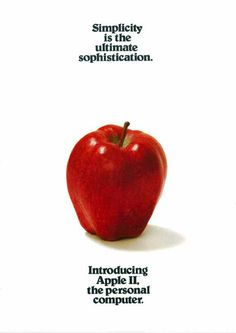 Apple 1977 (II)...amazing how the company embodies that classic value even 35 years later in its products. Thank you Steve Jobs.