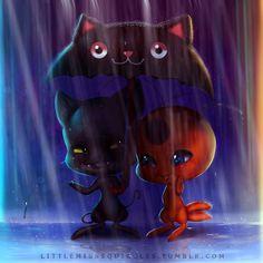 Plagg and Tikki! (Miraculous Ladybug)