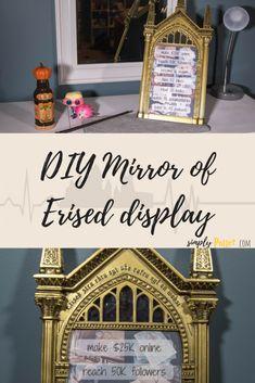 DIY Harry Potter ⚡ Mirror of Erised Display