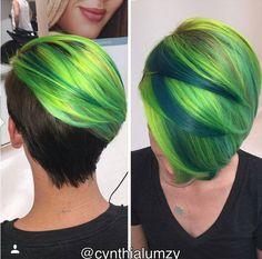 Ganz hübsche Kurzhaarfrisuren mit wunderbaren Farben für trendy Frauen