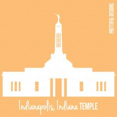 Indianapolis Indiana Temple LDS Mormon Clip Art png eps svg Vector