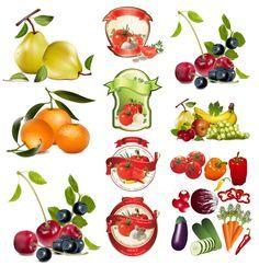 chinese painting fruit vector - Поиск в Google