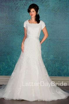 modest wedding gowns Rosalia