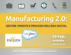 #Manufacturing 2.0: gestire vendite e #marketing nell'era #digital #Novara