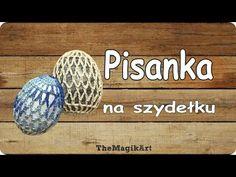 Pisanka na szydełku - YouTube Crochet Case, Crochet Angels, Easter Crochet, Needle Lace, Easter Eggs, Cross Stitch, Pillows, Friends, Youtube