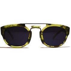 Rhino Sunglasses Emerald, $75, now featured on Fab.