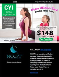 Six month nccpt course extensions for only 25 50 off use coupon happy mothers day breathe relax enjoy certified yoga instructor for only 148 use fandeluxe Image collections