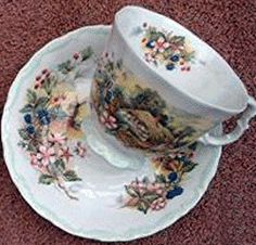 Royal Albert - Cottage Garden Year Series -Autumn cup and saucer
