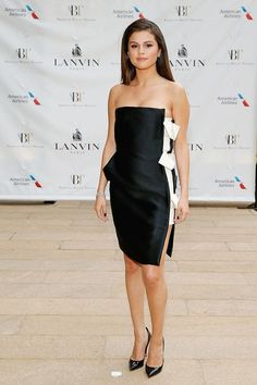 Selena Gomez's best red carpet and street style fashion looks—At the American Ballet Theatre Spring Gala in New York, New York. May 2014