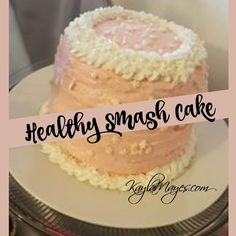 I'm so excited about the way this smash cake turned out for my baby's 1st birthday! I wanted to make something healthy that wasn't goin...