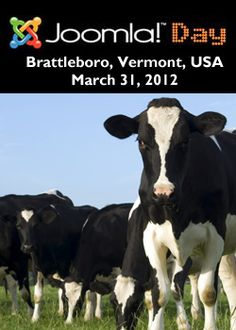 Join us for the fourth annual Joomla Day New England, held on March 31, 2012, from 9 AM to 5 PM at the Marlboro College Graduate School in Brattleboro, Vermont.