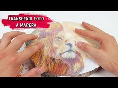 Cómo TRANSFERIR FOTO a madera con COLA BLANCA o RESISTOL BLANCO - YouTube Recycled Crafts, Diy And Crafts, Painting Antique Furniture, Foto Transfer, Candle Craft, Decoupage Box, Art Abstrait, Handicraft, Projects To Try