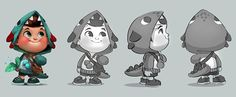 Hisense - Character design on Behance ★ Find more at http://www.pinterest.com/competing/