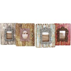 I pinned this 4 Piece Colette Picture Frame Set from the Import Collection event at Joss and Main!