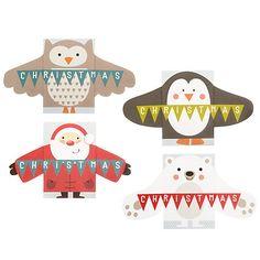 Buy John Lewis Mini Hugs Charity Christmas Cards, Box of 16 Online at johnlewis.com