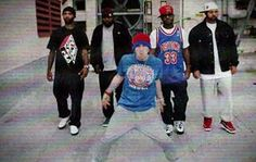 Eminem...had too, look at that pose,..