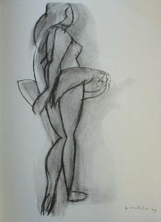Henri Matisse : La danseuse, 1949