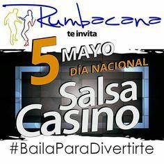 Feliz día Nacional de #SalsaCasino  #Rumbacana #BailaParaDivertirte  #SalsaCasinoVenezuela Listos para el #VenezuelaEnRueda