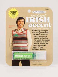 "Spray de Gura ""Accent Irlandez"""