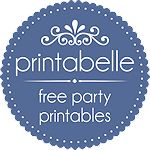 Free party printables. Each party set comes with a sign, treat toppers, thank you cards, place cards, bookmarks, gift tags, cupcake circles, gift bag circles, mini candy bar wrappers and lots more! Cl (Bottle Bag Template)