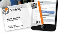 Get a Biz Card w/ a QR Code on it: Vizibility Launches Its NFC-Enabled Business Cards | TechCrunch