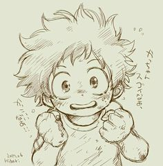 Read from the story El pack de Deku~ by EstudioDelDurazno (¡Duraznos! Anime Drawings Sketches, Anime Sketch, Manga Drawing, Manga Art, Cute Drawings, Manga Anime, Anime Art, Chibi, Fanart Manga