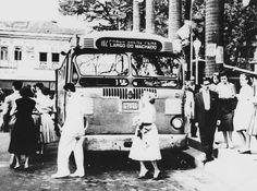 Linha Praça Saens Pena (Tijuca) - Largo do Machado (Zona Sul), 1950, RJ