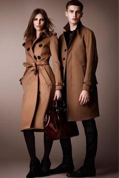 Burberry Pre-Fall 2013 Fashion Show - Karlina Caune and Charlie France