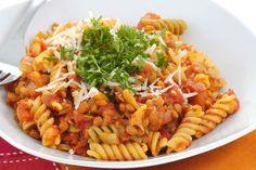 Vegene Bolognese mit Linsen und Gemüse