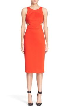 Hunter Bell 'Porter' Cutout Sheath Dress available at #Nordstrom