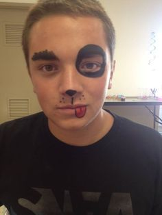 39 Best Dog Face Paint Designs Images Painted Faces Artistic Make