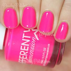 Different Dimension Right On | Summer 2015 Back To The 70s Collection | Peachy Polish