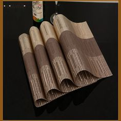 3pcs lot Hot Sale Placemats High Quality PVC Dining Table Pads Mats Non Slip Table Mat. Click visit to buy