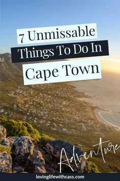 Satisfy your wanderlust with a trip to Cape Town. Plan the perfect trip with this blog all about things to do in Cape Town. These 7 things to do in South Africa have to be on your Cape Town bucket list. Be inspired to explore one of my favourite cities in the world. #capetown, #travelcapetown, #travelsouthafrica #exploretheworld Green Mountain, Table Mountain, Africa Destinations, Travel Destinations, Stuff To Do, Things To Do, Boulder Beach, Most Beautiful Cities, Africa Travel