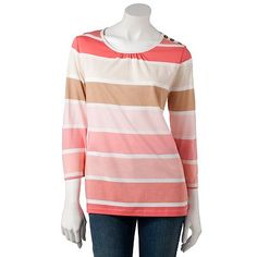 Croft and Barrow Striped Top
