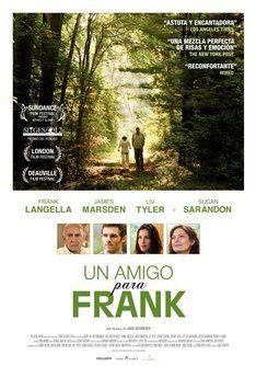 """Tráiler de """"Un amigo para Frank"""". Información, sinópsis y ficha técnica de la película"""