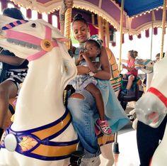Rihanna at Disney World in Orlando, FL