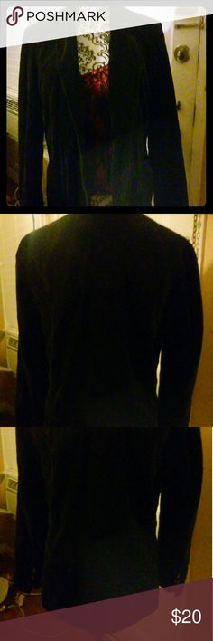 Faux suede jacket for women size 16 This faux suede jacke is a size 16 the fashion placeby sears and roebuck preowned  great condition fully lined 100% cotton the fashion place sears and roebuck Jackets & Coats Blazers