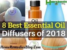 8 Best Essential Oil Diffuser of 2018