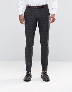 pantalon homme quadrillé