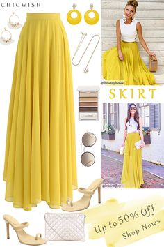Modest Outfits, Cute Casual Outfits, Skirt Outfits, Stylish Outfits, Summer Outfits, Modest Clothing, Look Legging, Chiffon Maxi, Party Skirt