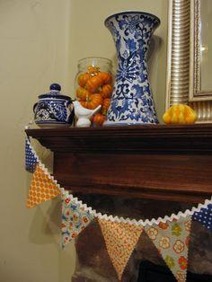 474c7550907ba My Blonde Ambitions  Thanksgiving Mantel Harvest Decorations