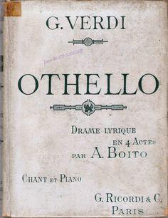 VIVA VERDI 2014 e SHAKESPEARE verso il 450 ° anno della nascita: OTHELLO o OTELLO in Francia, opera di GIUSEPPE VER...